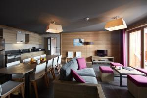 Les Chalets du Soleil Contemporains, Apartmánové hotely  Les Menuires - big - 11