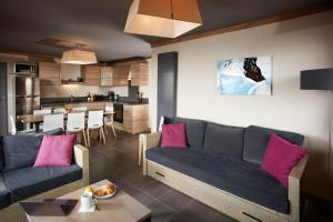 Les Chalets du Soleil Contemporains, Apartmánové hotely  Les Menuires - big - 18