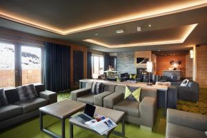 Les Chalets du Soleil Contemporains, Apartmánové hotely  Les Menuires - big - 42