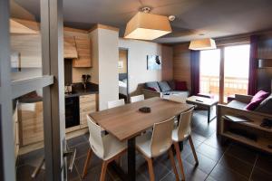 Les Chalets du Soleil Contemporains, Apartmánové hotely  Les Menuires - big - 10