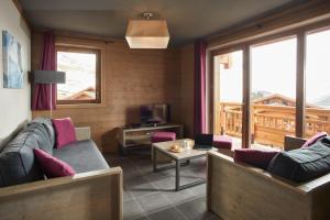 Les Chalets du Soleil Contemporains, Apartmánové hotely  Les Menuires - big - 44