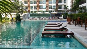 Diamond Suites Condo No.379/42, Apartmány  Pattaya South - big - 35