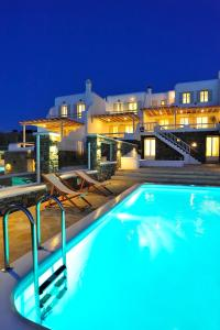 Villa Thalia, Ville  Glastros - big - 18