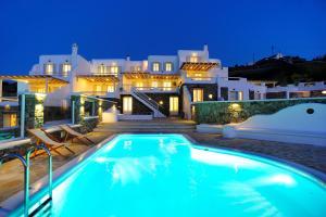 Villa Thalia, Ville  Glastros - big - 13