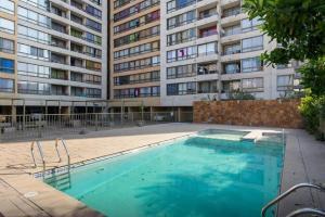 Departamento Edificio Vision, Ferienwohnungen  Santiago - big - 3