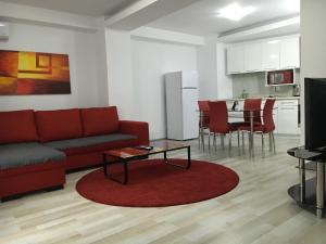Nirvana Accommodation, Апартаменты  Бухарест - big - 89