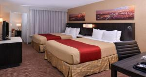 Premium Suite with Two Queen Beds with Balcony - Non smoking