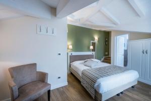 Hotel Garni Corona, Отели  Менаджо - big - 9