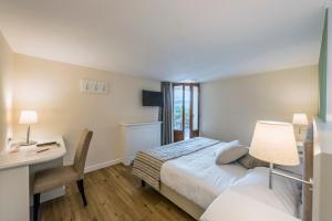 Hotel Garni Corona, Отели  Менаджо - big - 42