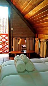 Chalé Bauzinho, Lodge  São Bento do Sapucaí - big - 28