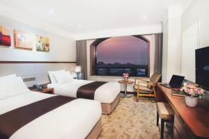 Hotel Robero Jeju, Отели  Чеджу - big - 17