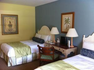 Double Room with Two Double Beds - Waterfront