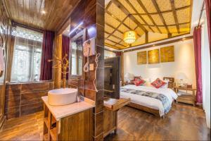 Lijiang Riverside Inn, Penziony  Lijiang - big - 41