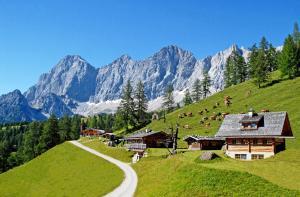 Chalet Kuschelhütte, Chalet  Ramsau am Dachstein - big - 63