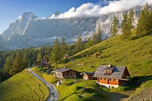 Chalet Kuschelhütte, Chalet  Ramsau am Dachstein - big - 1
