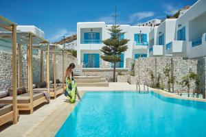 Mykonos Kosmoplaz Beach Resort Hotel, Hotel  Platis Yialos Mykonos - big - 9