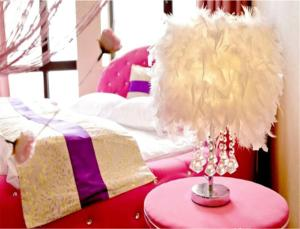 Sweet House Theme Apartment(Da Lian Yi Feng New Town Apartment Branch), Apartmanok  Csincsou - big - 7