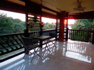 Rodinný pokoj s balkónem