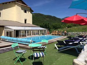 Les 2 Alpes, Отели типа «постель и завтрак»  Puget-Théniers - big - 12
