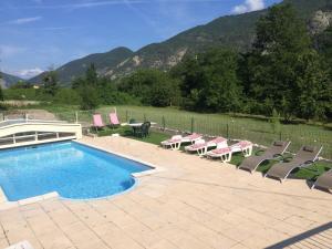 Les 2 Alpes, Отели типа «постель и завтрак»  Puget-Théniers - big - 13