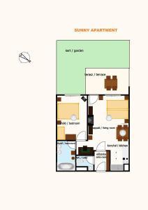 Sunny Apartman, Apartments  Siófok - big - 21