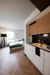 SMARTments business München Parkstadt Schwabing, Apartmánové hotely  Mníchov - big - 5