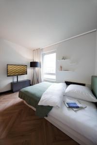 SMARTments business München Parkstadt Schwabing, Apartmánové hotely  Mníchov - big - 8