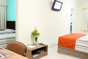 Monte Serrat Hotel, Отели  Сантос - big - 39