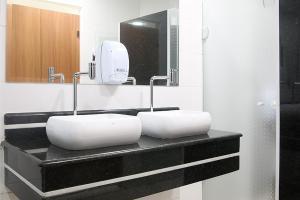 Monte Serrat Hotel, Hotel  Santos - big - 20