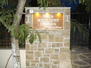 Villa Madeleine, Appartamenti  Nea Fokea - big - 26