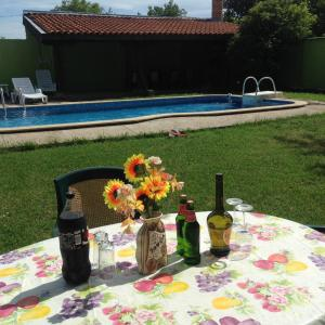 Angelinas Villa with Private Pool, Ferienwohnungen  Bozhurets - big - 64
