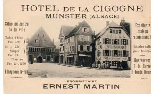 Hôtel Restaurant La Cigogne, Hotels  Munster - big - 49
