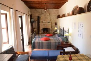 Amarakos Guesthouse, Affittacamere  Kato Akourdalia - big - 17