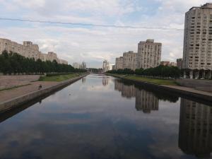 Cozy Flat next to Primorskaya, Apartmány  Petrohrad - big - 17