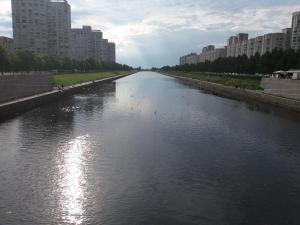 Cozy Flat next to Primorskaya, Apartmány  Petrohrad - big - 19