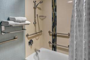 Номер с кроватью размера «king-size» и душем — Подходит для гостей с ограниченными физическими возможностями