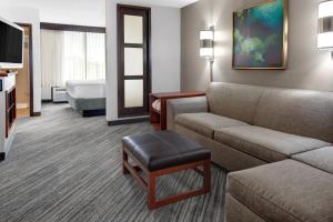 Chambre Lit King-Size avec Canapé-Lit - Étage Supérieur