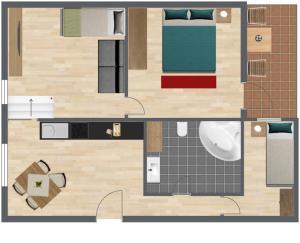 Haus Benedikt, Apartmanok  Heiligenblut - big - 21