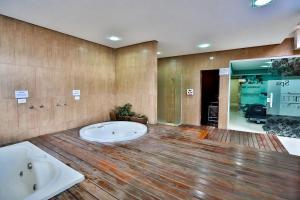 Monte Serrat Hotel, Hotel  Santos - big - 30