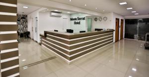Monte Serrat Hotel, Hotel  Santos - big - 26