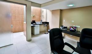 Monte Serrat Hotel, Hotel  Santos - big - 33