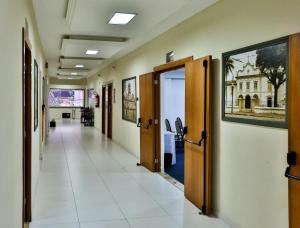 Monte Serrat Hotel, Hotel  Santos - big - 34