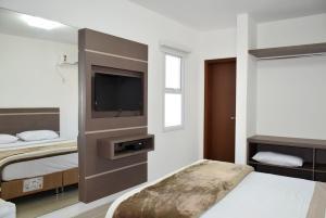 Apartamentos Trindade, Apartmanok  Florianópolis - big - 14