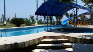 Hotel y Balneario Playa San Pablo, Отели  Monte Gordo - big - 269