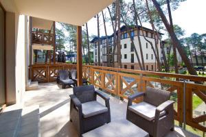Mielno Apartments Rezydencja Park, Appartamenti  Mielno - big - 34