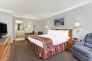 1-værelseslejlighed med kingsize-seng - ryger