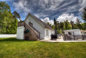 Chata Villa Blanche Tofta Švédsko