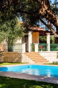 Villa Vallia - Villa Marina, Ville  Kato Galatas - big - 37