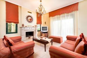 Villa Vallia - Villa Marina, Ville  Kato Galatas - big - 31