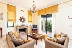 Villa Vallia - Villa Marina, Ville  Kato Galatas - big - 21